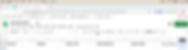 Example of spreadsheet in Google Docs
