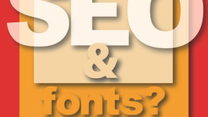 SEO and Fonts