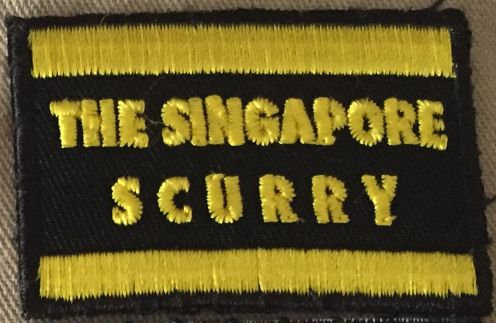 Singapore Scurry Event Patch