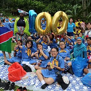 Singapore Girl Guides Centenary 2017