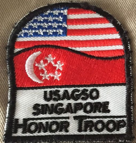 USAGSO Singapore Honor Troop Patch