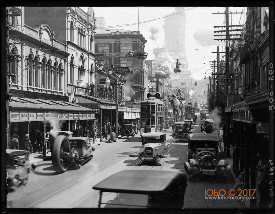 Willis Street Wellington NZ