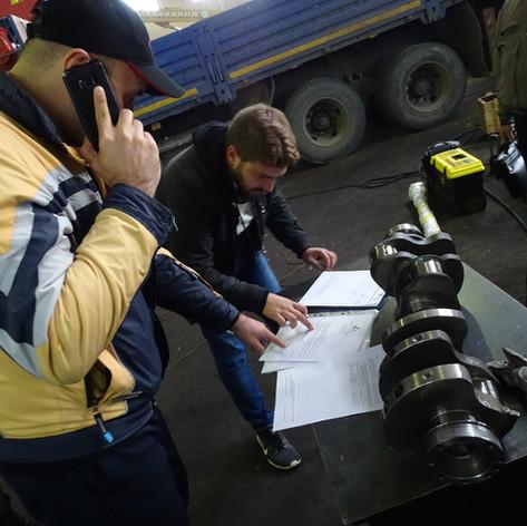 Экспертиза двигателя