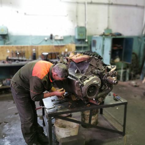 Экспертиза двигателя КАМАЗ