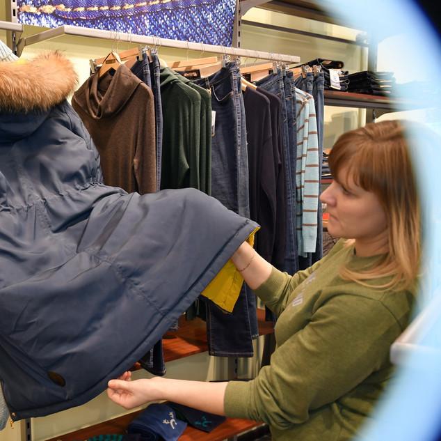"""Экспертиза поврежденной одежды в результате несанкционированных ремонтных работ магазина """"Westland"""""""