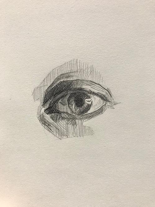 """""""eye in graphite"""""""