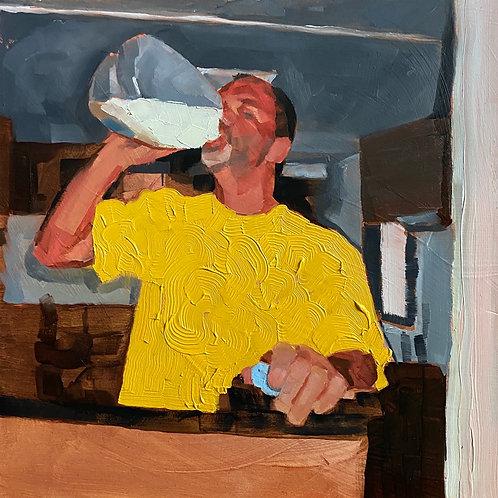 """""""dad drinking skim milk 2005"""""""
