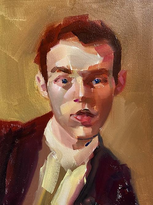 """""""portrait of a human face"""""""
