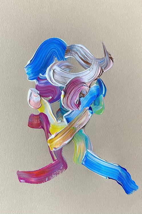 """acrylic study #4"""