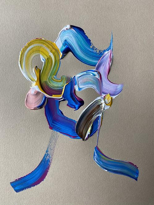 """acrylic study #5"""