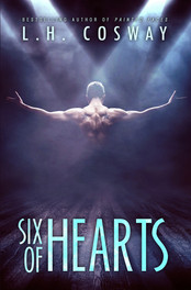 Six of Hearts by L.H Cosway