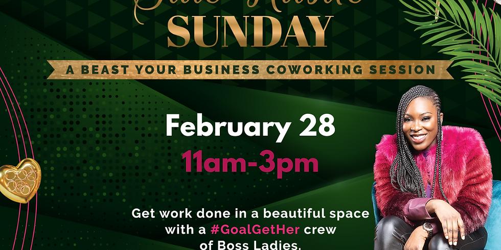 Side Hustle Sunday- Coworking Session