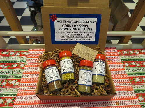 Gift Box Country Set Spice Seasoning Blend