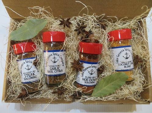Gift Set Box - Gourmet Seasonings