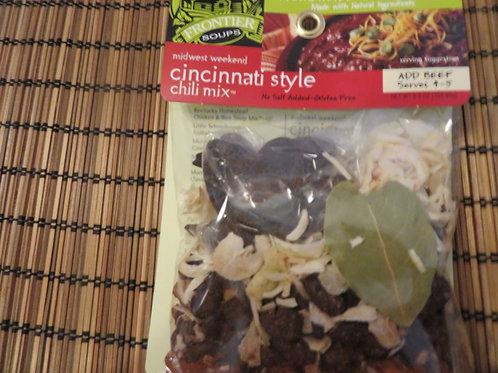 Midwest Weekend Cincinnati Style Chili Mix