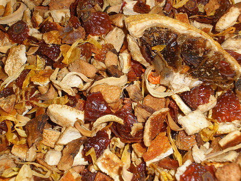Blood orange Herbal Tea Infusion  3 oz bag