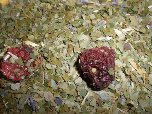 Wild Blueberry Green Tea Blend 1 oz bag