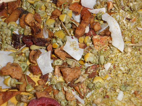 Coconut Chamomile Fruit Infusion  1 oz bag