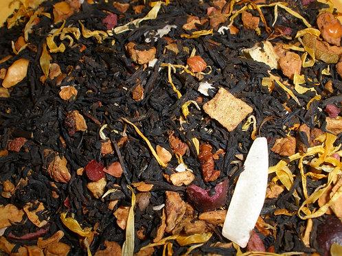 Strawberry & Stars Black Decaf Tea  1 oz bag