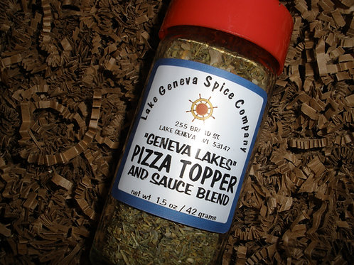 """Geneva Lakes"" Pizza Topper and Sauce Blend"