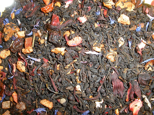 Ginger Peach Black Tea  1 oz bag
