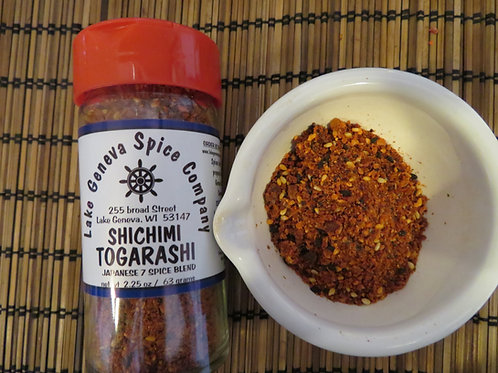 Shichimi Togarashi Japanese 7 Spice Blend