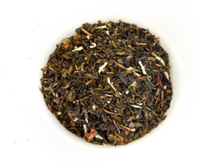 Strawberry Coconut Creme Green Tea 1 oz bag