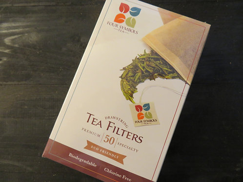 Drawstring Tea Filters  50 ct