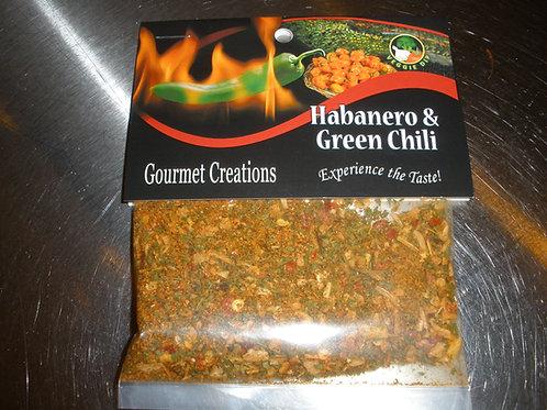 Habanero & Green Chili
