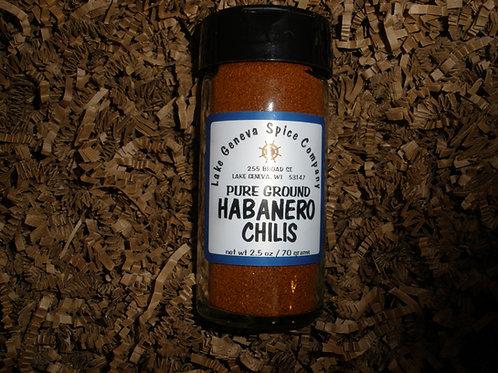 Habanaro Pepper Ground