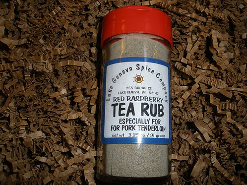 Red Raspberry Tea Rub