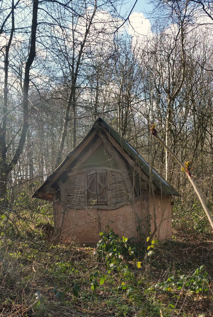 Wattle and Daub Cabin