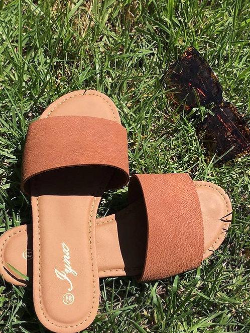 Sannie Brown Sandals