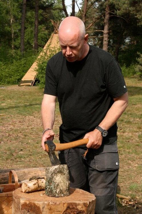 Kuksa carving with Jan Harm Ter Brugge