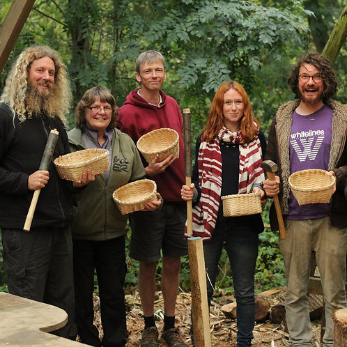 24th - 25th August Ash splint basket making with Steve Tomlin