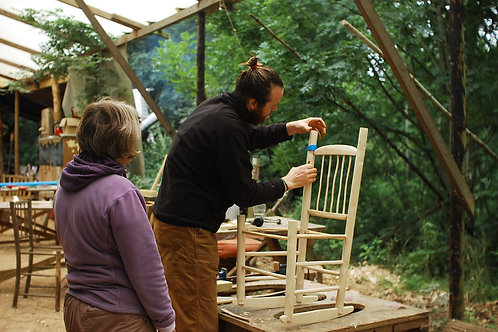 10th - 15th June Traditional Chair making Week in the Woods