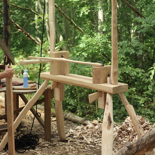 12th - 17th August Build a bowl lathe and learn to turn bowls with Yoav Elkayam