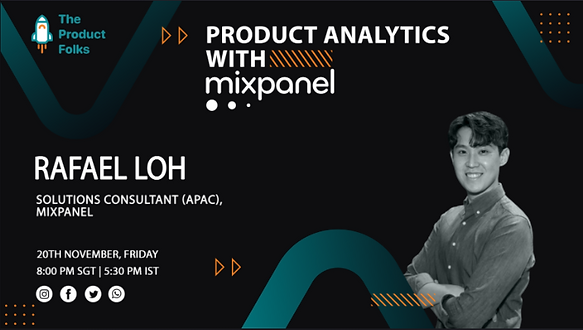 Airmeet_ Product Analytics with Mixpanel