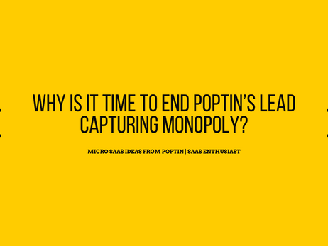 Micro SaaS ideas from Poptin | SaaS enthusiast