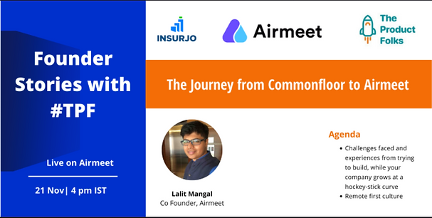 Airmeet_ Founder stories with Lalit Mang