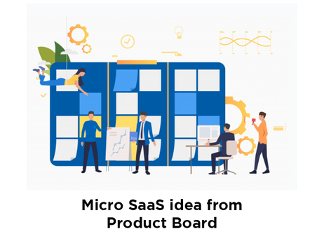 Micro SaaS idea from Product Board