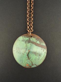 Legacy Copper Cone Pendant