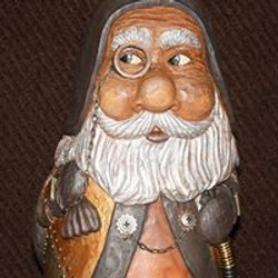 wood carving by lanny logan
