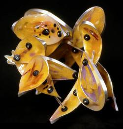 Yellow Form Bracelet