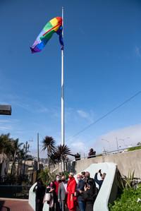 CASTRO FLAG RAISING April 2, 2021
