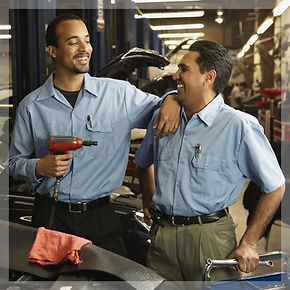 Small business employees - mechanics