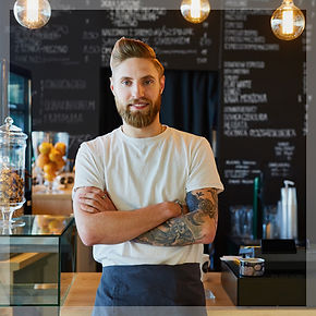 Small business employee - Barista