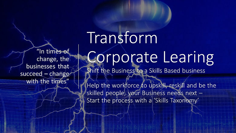 Transform Corporate Learing - article im