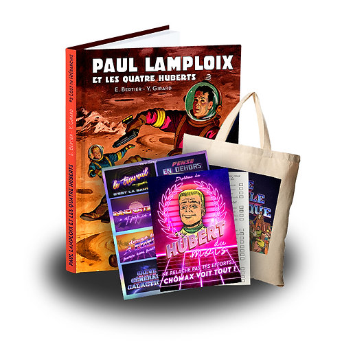 Paul Lamploix - Tome 2 + Méga Pack de goodies
