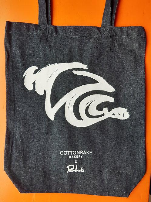 Cottonrake Denim Tote Bag